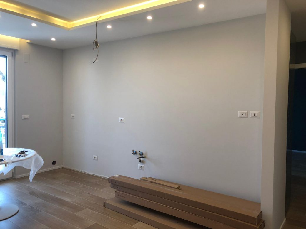 Renovation of apartment for a residential building of about 70 square meters