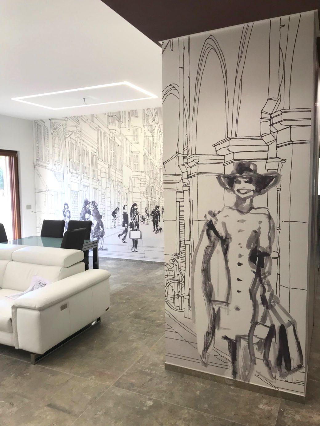 Ristrutturazione appartamento in stile contemporaneo